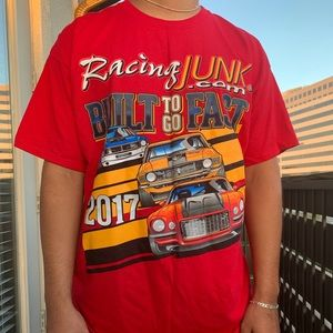 Racing junk built to go fast 2017 T-shirt